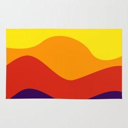 color waves 2 Rug