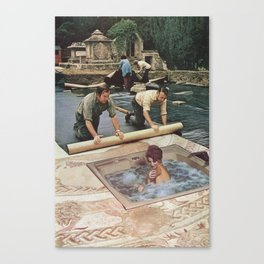Modesty Canvas Print