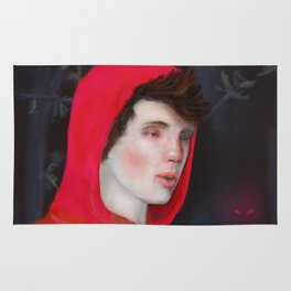 A Red Night Rug