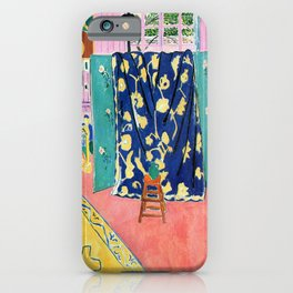 Henri Matisse The Pink Studio iPhone Case