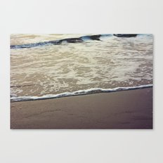 Touch the Sea Canvas Print