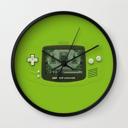 Gameboy Zelda Link Wall Clock