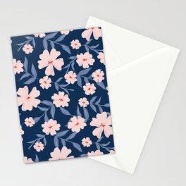 Primrose midnight blue Stationery Cards