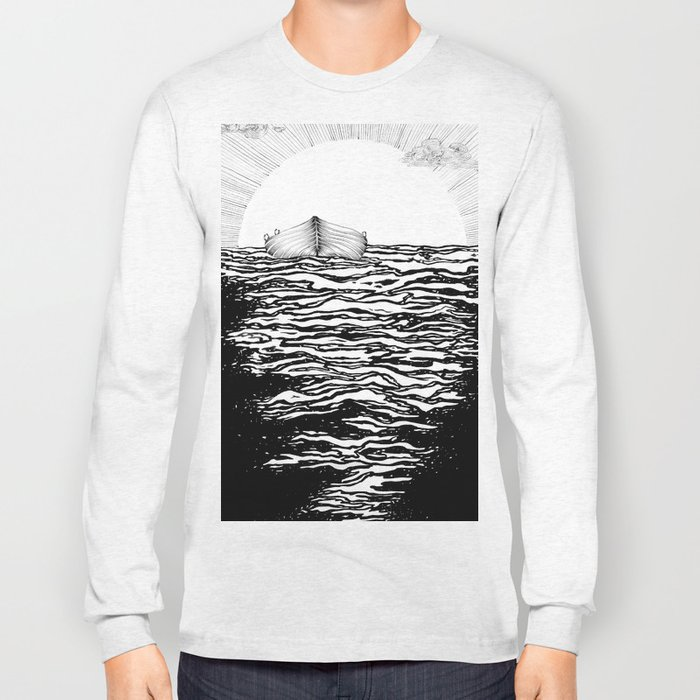 Abandoned to the Sun Long Sleeve T-shirt