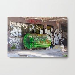 Abandoned Gas Station. Sydney. Australia. Metal Print