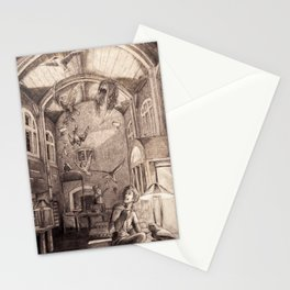 Aviary Library Stationery Cards