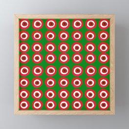 Christmas Evil Eye Framed Mini Art Print