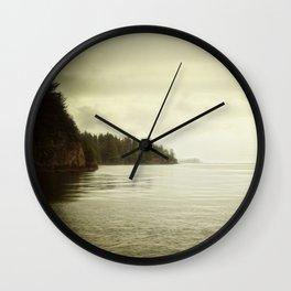Salish C Tofino BC Wall Clock