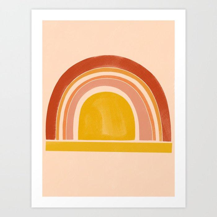 autumn sunshine 1 Art Print