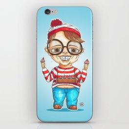 Wally is here iPhone Skin