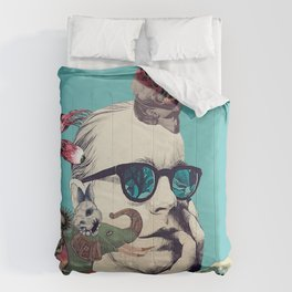 Thinking Out Loud Comforters