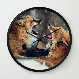 Ultimate Foxing Championship Wall Clock