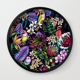 Stand Out! (midnight) Wall Clock