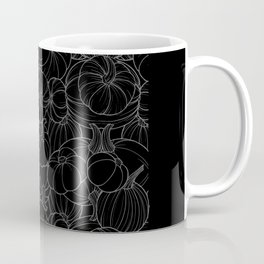 Black Pumpkins  Coffee Mug