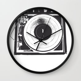 I Need Vinyl Wall Clock