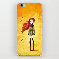 Autumn Breeze iPhone Skin
