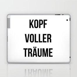 KOPF VOLLER TRÄUME Laptop & iPad Skin