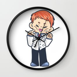 Doctor nurse doctor patient funny house Wall Clock
