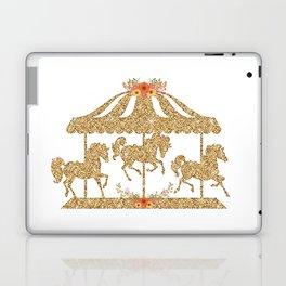 Glitter Carousel Laptop & iPad Skin