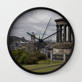 View from Calton Hill Wall Clock