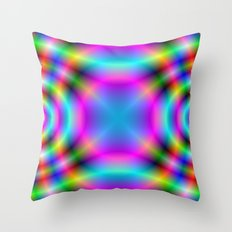 The 60's Vibe Throw Pillow