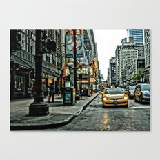 Hot Times in The City Canvas Print