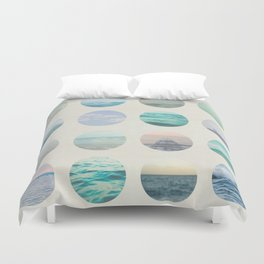 Ocean Polka dot  Duvet Cover