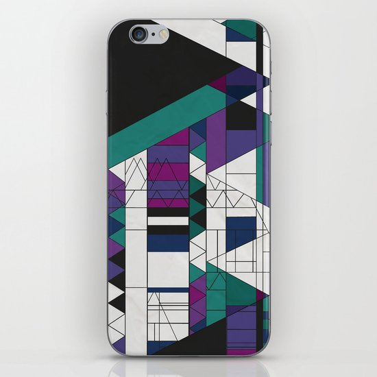 Triangled! iPhone Skin