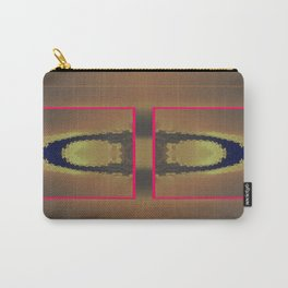 Pinkbrown(blue) Pattern 9 Carry-All Pouch