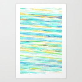 glitch_abstract Art Print