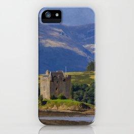 Castle Stalker Argyll, Scotland iPhone Case