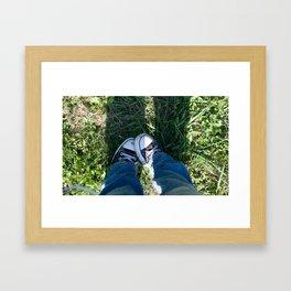 I love Chucks Framed Art Print