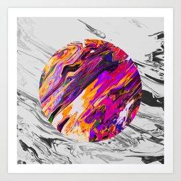 Efstrá Art Print