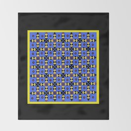 Beetles Pattern Throw Blanket