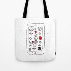 My space phone Tote Bag