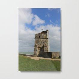 Coastal Tower Metal Print