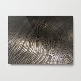 Damascus Steel Blade 3 Metal Print