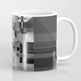 metallic skull on code Coffee Mug