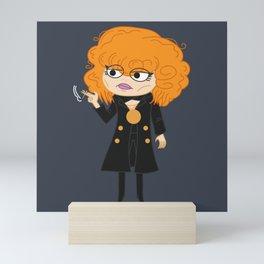 Russian Doll Nadia Natasha Lyonne Netflix Illustration Mini Art Print
