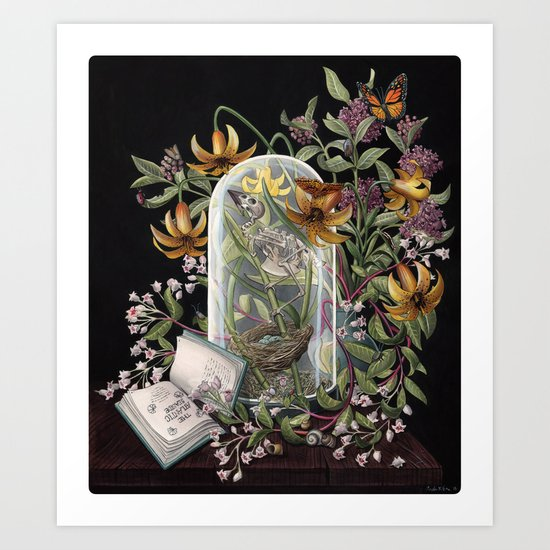 Atlantic Seaside Still Life Art Print
