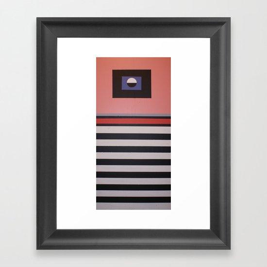 THE LENTICULAR GRAVITATION Framed Art Print