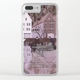 Norway 9 Clear iPhone Case