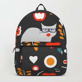 Valentine decor with cats Backpack