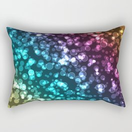 Colourful.  Rectangular Pillow