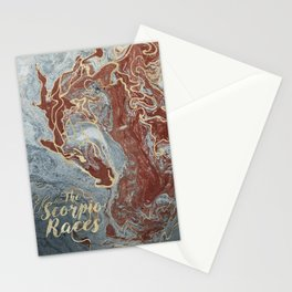 The Scorpio Races - Red as the Sea Stationery Cards