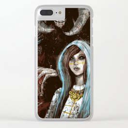 A Cautionary Tale for Young Deities Clear iPhone Case