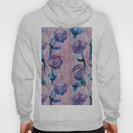 Rose Petals Series Paintings Hoody