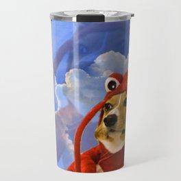 Lobster Corgi Travel Mug
