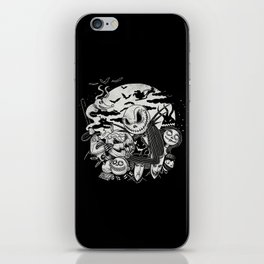 Filling Your Dreams to the Brim with Fright iPhone Skin
