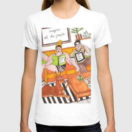 Living life in peace T-shirt